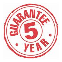 Mend A Bath Australia offer a 5-year Guarantee*